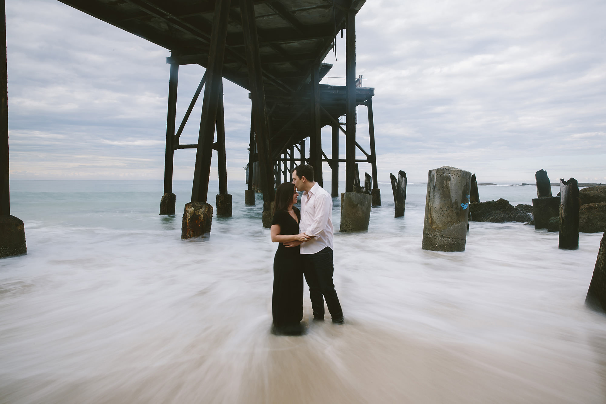 catherine hill bay engagement photography