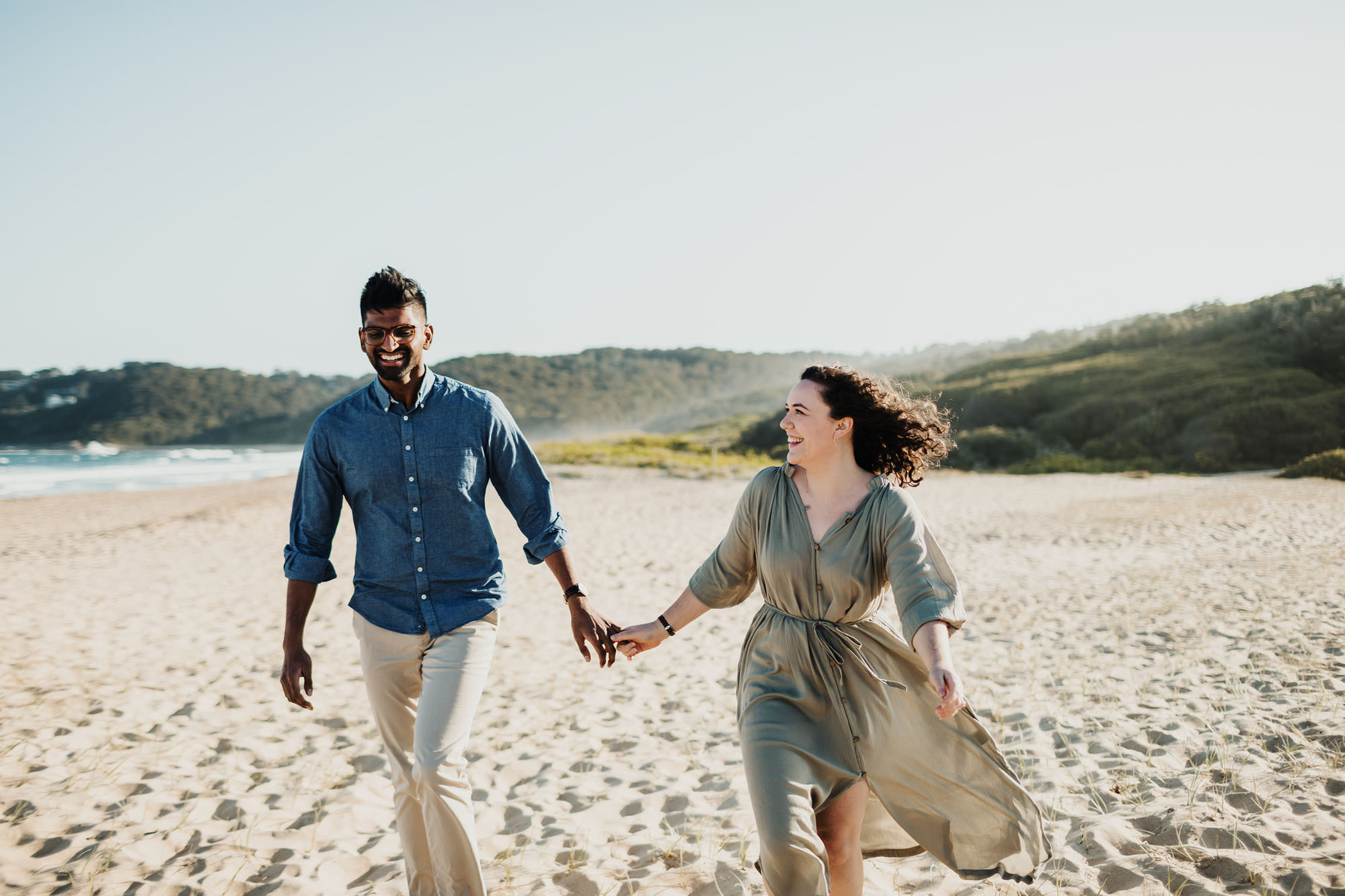 dudley beach engagement photography